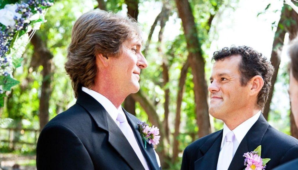 Eheversprechen schwules Paar